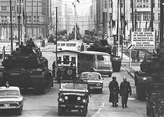 Audioguide de Berlin - Checkpoint Charlie