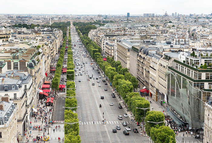 Audioguide de Paris - Champ Elysees