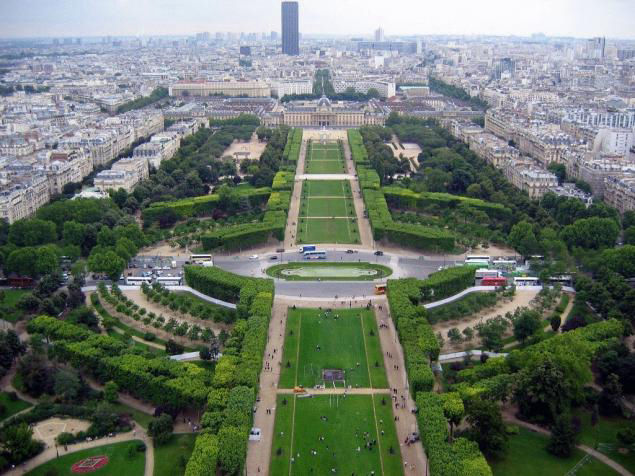 Audioguide de Paris - Champ de Mars