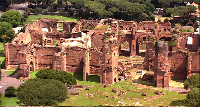 Audioguide de Rome - Thermes de Caracalla
